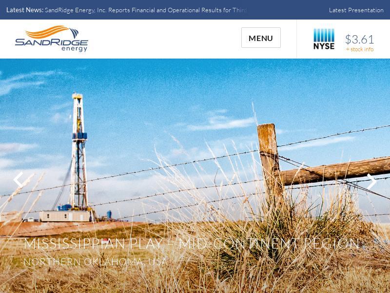 SandRidge Energy, Inc. Skyrocketed