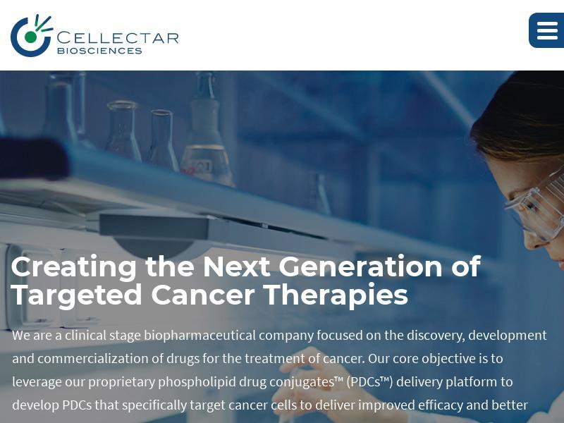 Cellectar Biosciences, Inc. Gains 28.71%