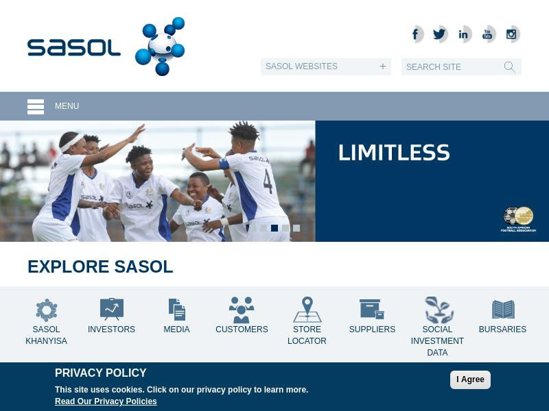 Sasol Limited Gains 59.06%