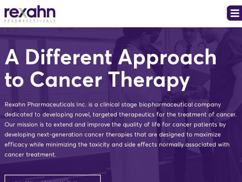 Rexahn Pharmaceuticals, Inc. Gains 78.54%