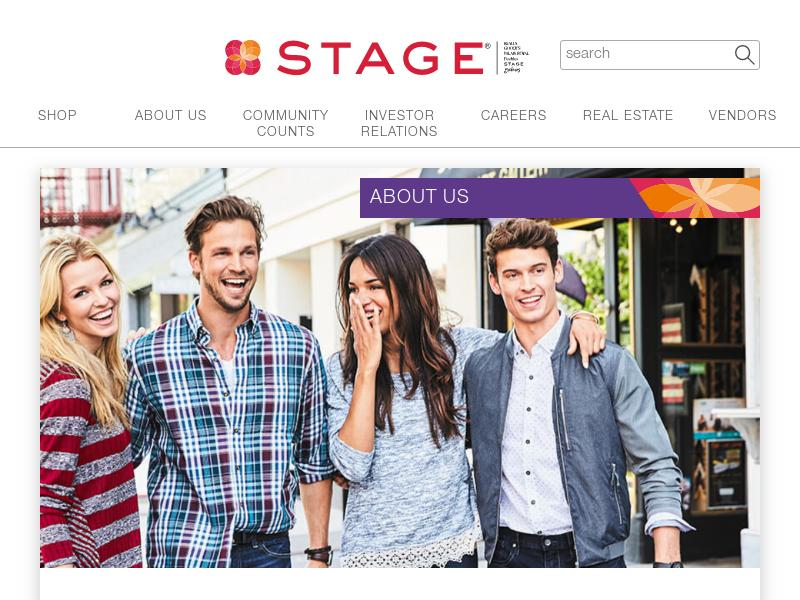 Big Move For Stage Stores, Inc.