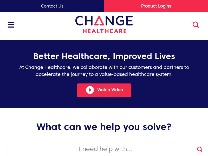 Change Healthcare Inc. Gains 30.04%