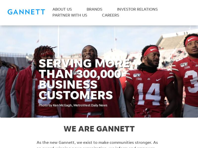 Gannett Co., Inc. Gains 32.76%