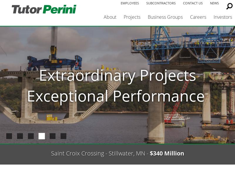 Tutor Perini Corporation Gains 60.82%