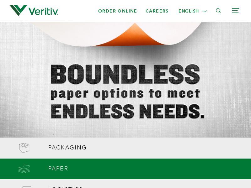 Big Move For Veritiv Corporation