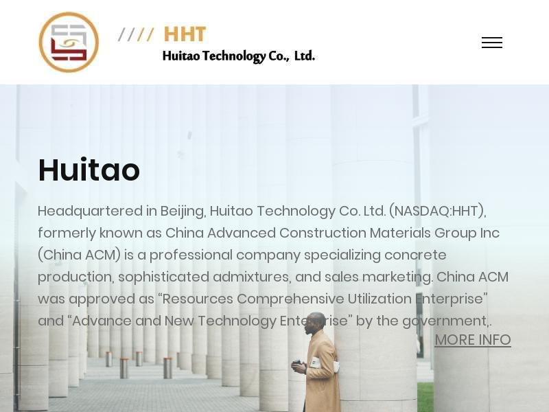 Huitao Technology Co., Ltd. Gains 28.08%