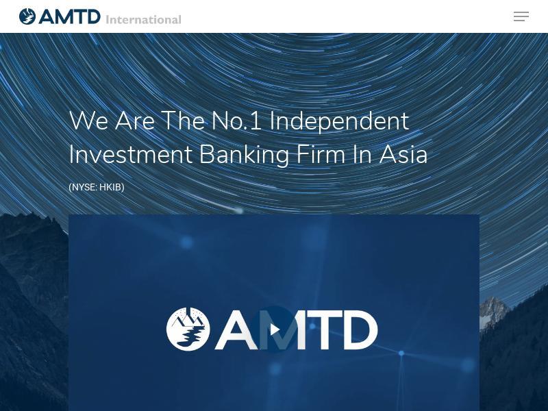 AMTD International Inc. Made Headway