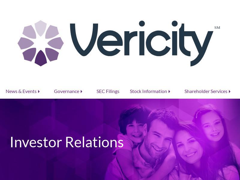 Vericity, Inc. Gains 44.63%