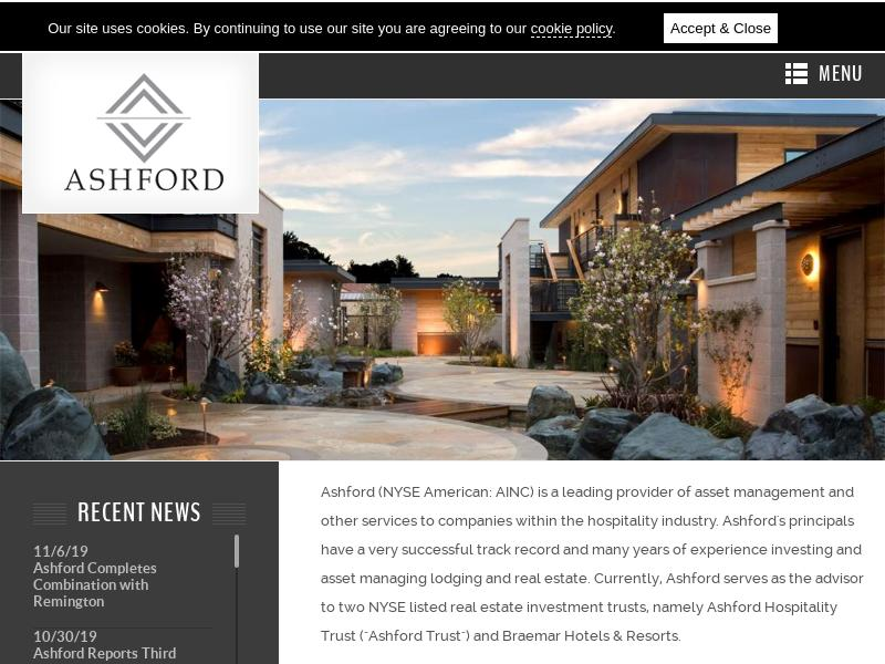 Big Move For Ashford Inc.