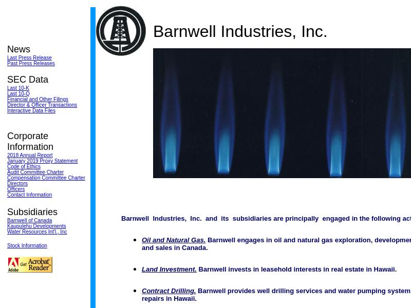 Barnwell Industries, Inc. Skyrocketed