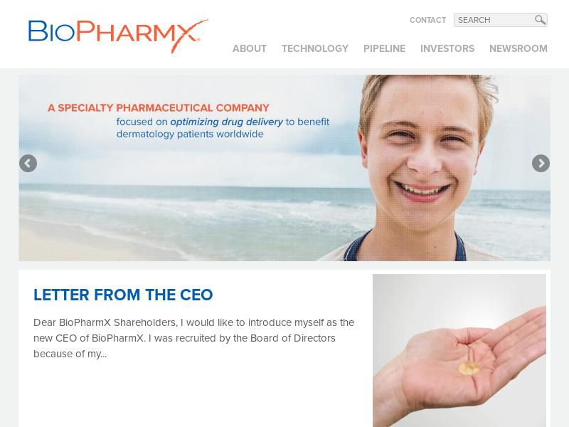 Big Gain For BioPharmX Corporation