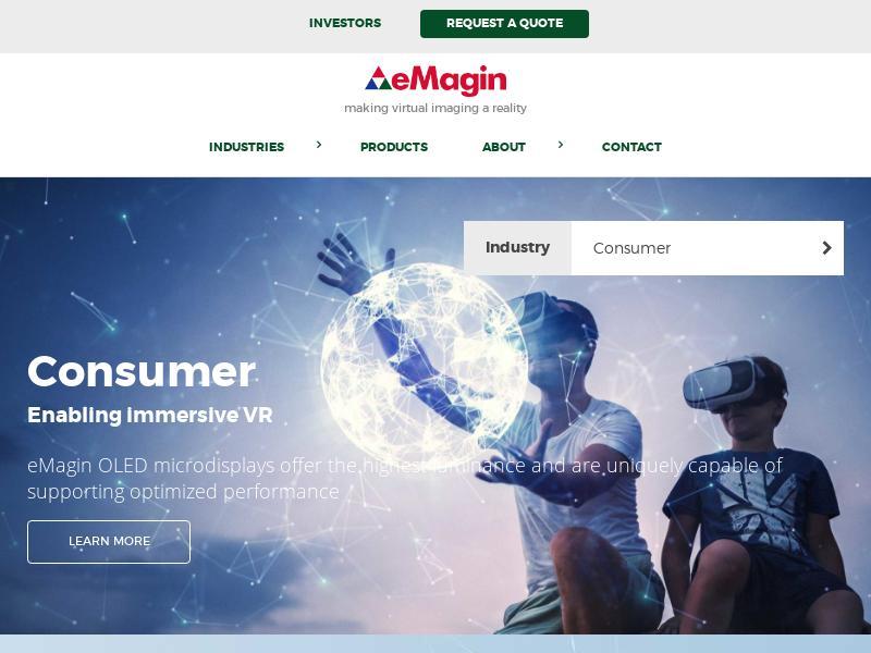 eMagin Corporation Made Big Gain