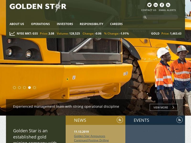 Golden Star Resources Ltd. Gains 24.76%