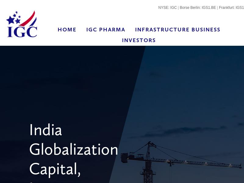 India Globalization Capital, Inc. Gains 28.97%