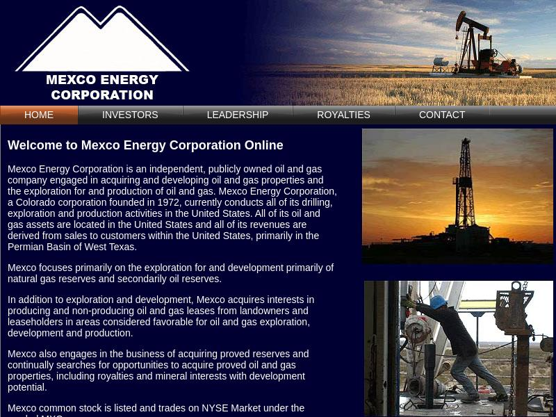 Mexco Energy Corporation Gains 121.92%
