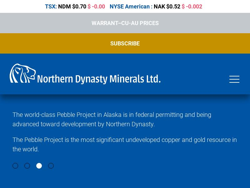 Big Gain For Northern Dynasty Minerals Ltd.