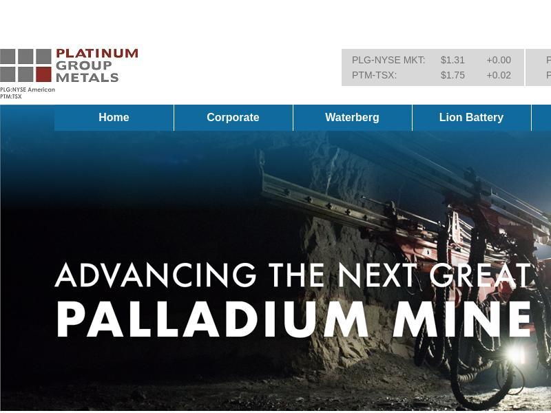 Platinum Group Metals Ltd. Gains 35.9%