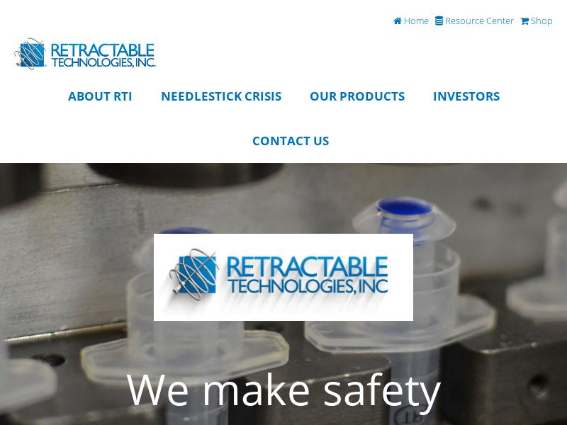 Big Move For Retractable Technologies, Inc.
