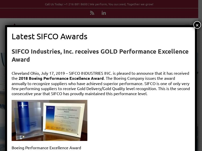 SIFCO Industries, Inc. Skyrocketed