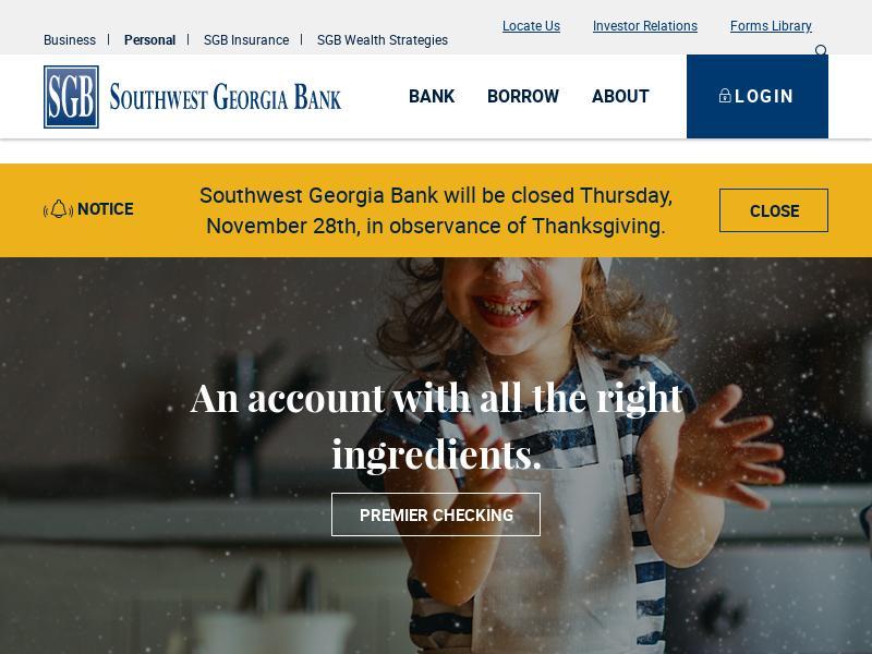 Big Gain For Southwest Georgia Financial Corporation