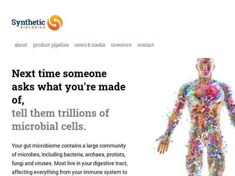 Synthetic Biologics, Inc. Gains 99.96%