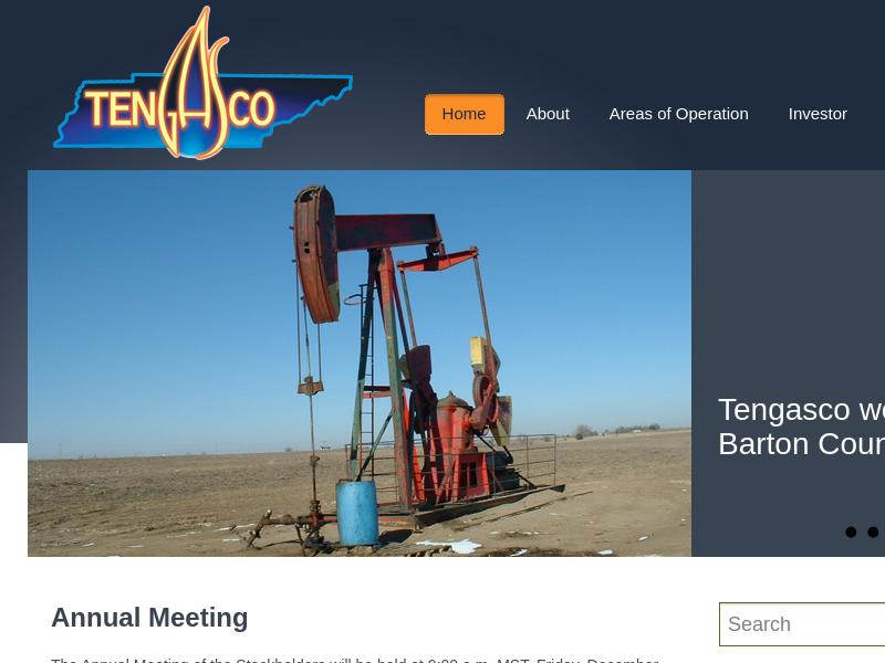 A Day Up For Tengasco, Inc.
