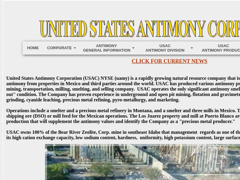 United States Antimony Corporation Gains 78.96%
