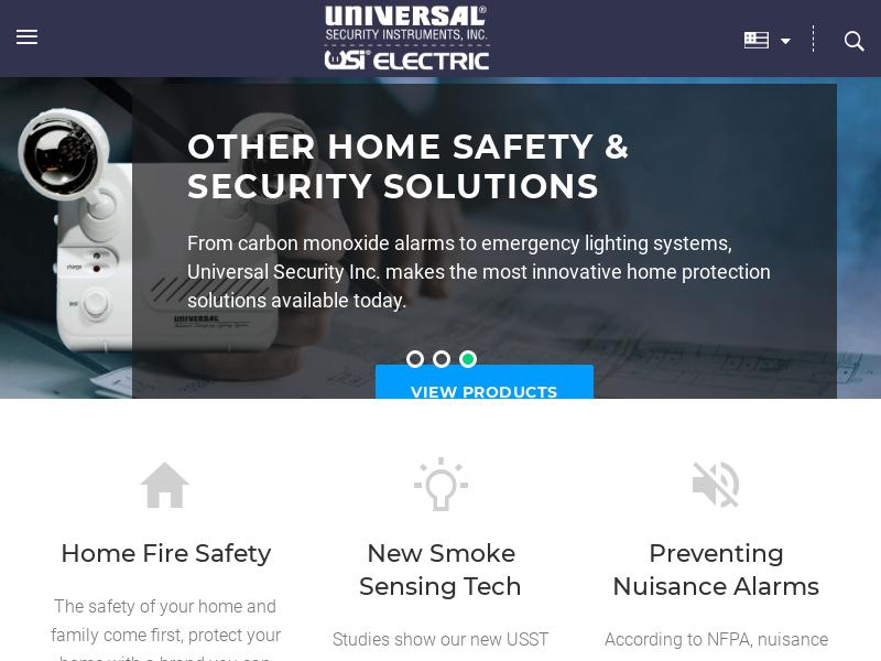 A Day Up For Universal Security Instruments, Inc.