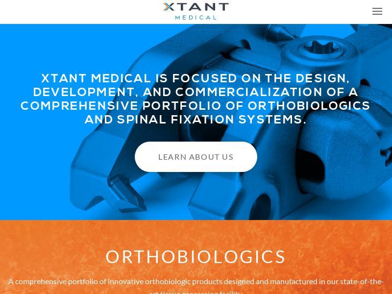 Xtant Medical Holdings, Inc. Made Big Gain