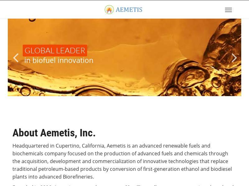 Aemetis, Inc. Gains 27.97%