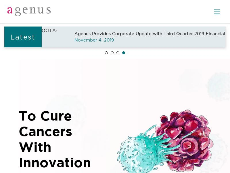Agenus Inc. Made Headway