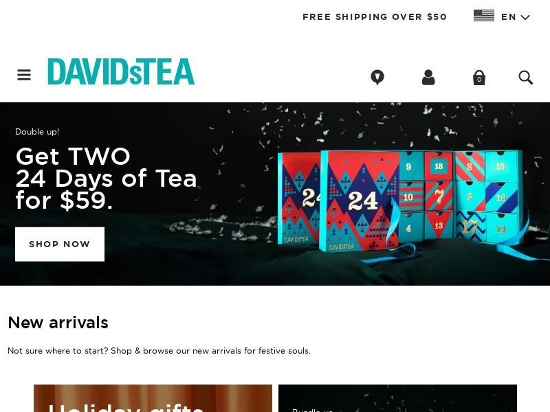 DAVIDsTEA Inc. Gains 42.24%