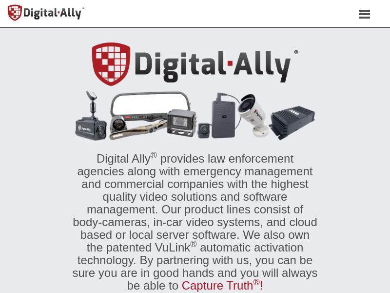 Digital Ally, Inc. Gains 32.75%