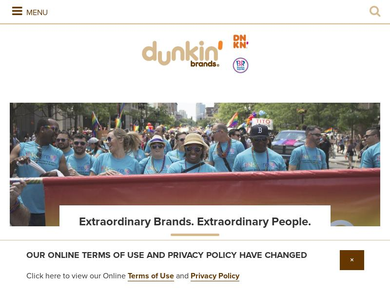 Dunkin' Brands Group, Inc. Soared