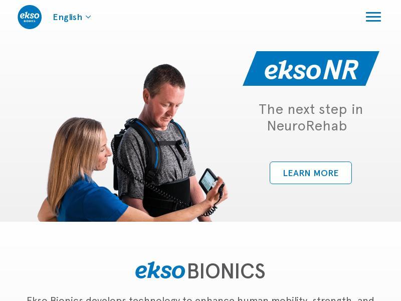 A Day Up For Ekso Bionics Holdings, Inc.