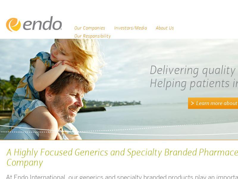 Big Gain For Endo International plc