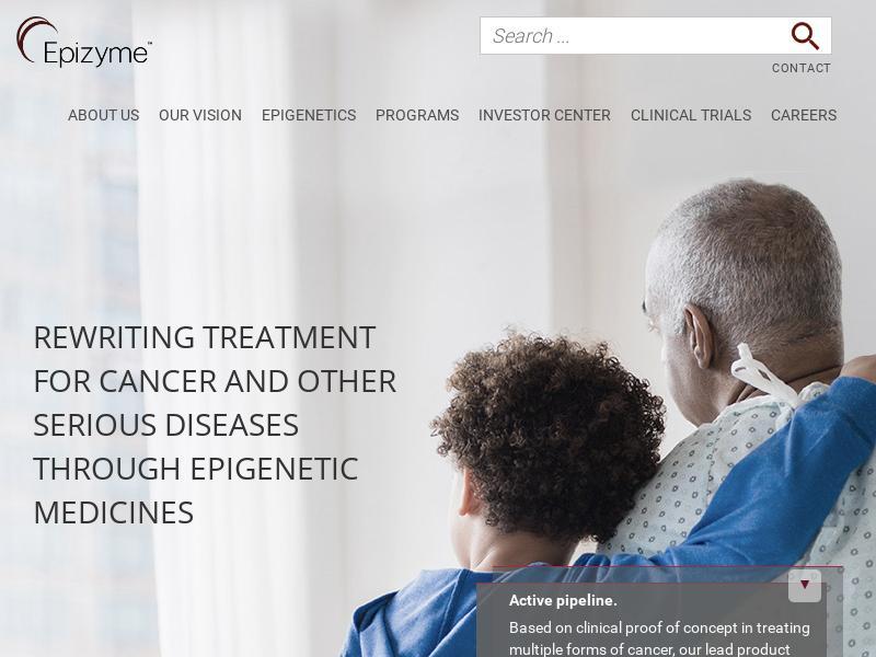 Epizyme, Inc. Gains 21.73%