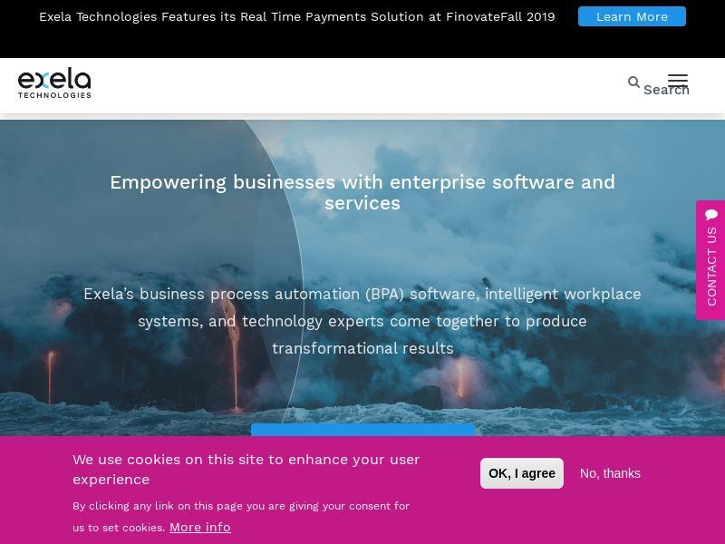 Exela Technologies, Inc. Soared
